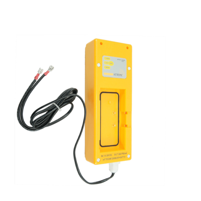 Hetronic DC Charger Rec Battery w/spades