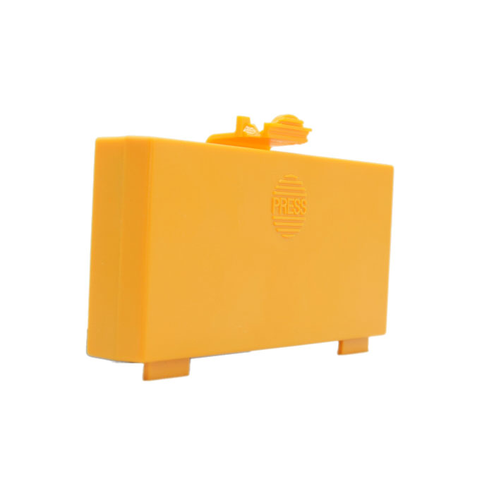 Hetronic Yellow Rectangle Battery